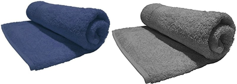 Bombay Dyeing Cotton 450 GSM Bath Towel (Pack of 2) Multicolor