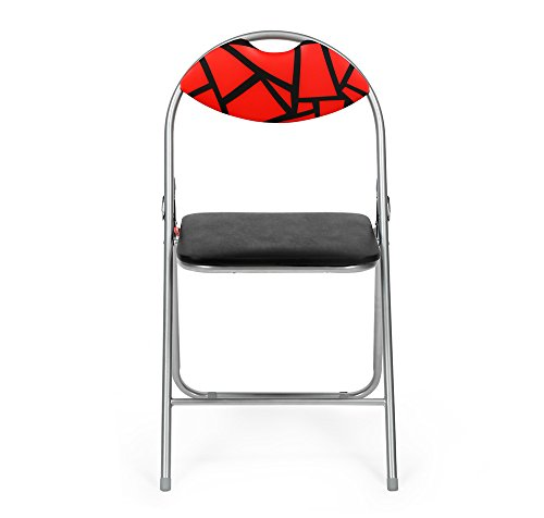 @home by Nilkamal Jax Metal Outdoor Chair, Finish Color – NA