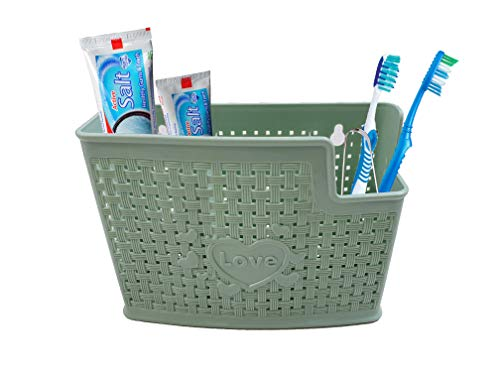 Inditradition 3 Cups Toothbrush Toothpaste Stand Holder