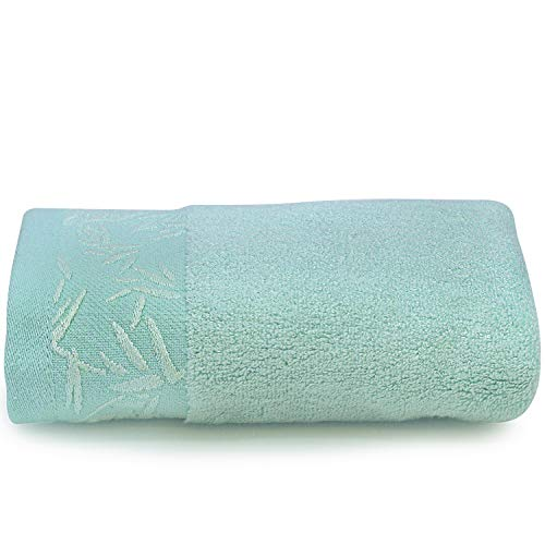 Spread Spain Cotton 360 GSM Face Towel  (Green)