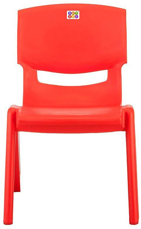 Bey Bee Strong and Durable Plastic Chair for Kids – Red (1-4 Years)