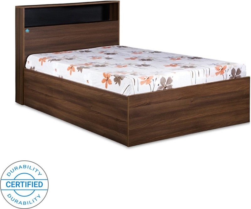 Delite Kom Urban Engineered Wood Single Box Bed  (Color – Acacia Dark matt finish)