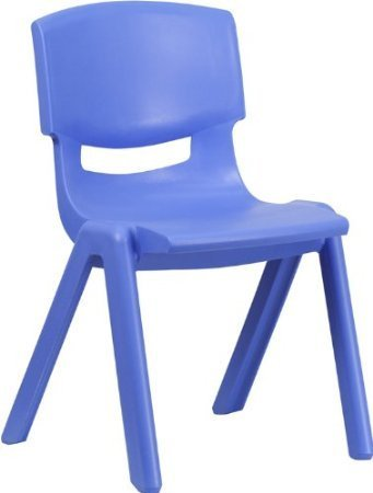 NILKAMAL INTRA KIDS STRONG AND DURABLE KIDS PLASTIC SCHOOL STUDY CHAIR- (M) BLUE