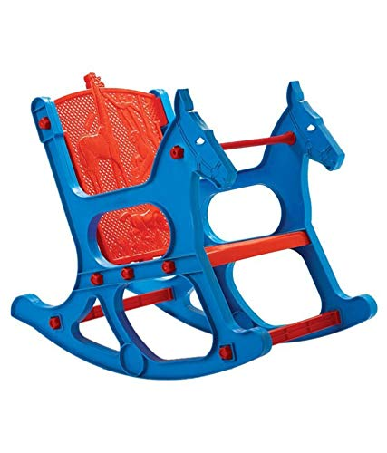 Nilkamal Toy Jungle Kids Chair (Blue, Red)