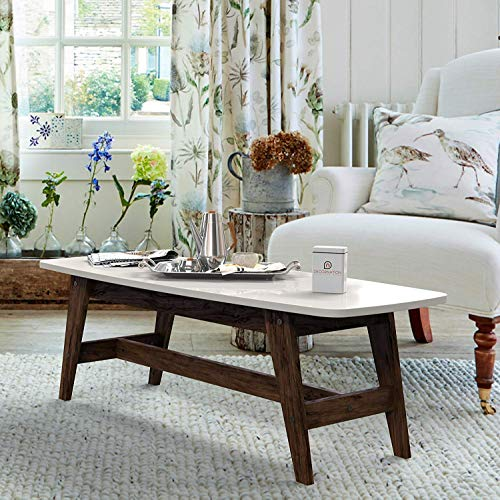 Decornation serene wooden coffee table