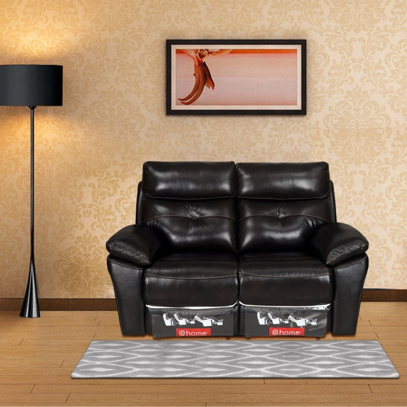 @home by Nilkamal Leather Powered Recliners  -Finish Color – Brown