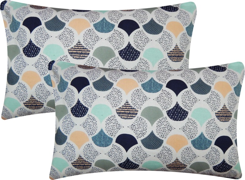 Home colors Printed Pillows Cover -Pack of 2, 45*70, Multicolor