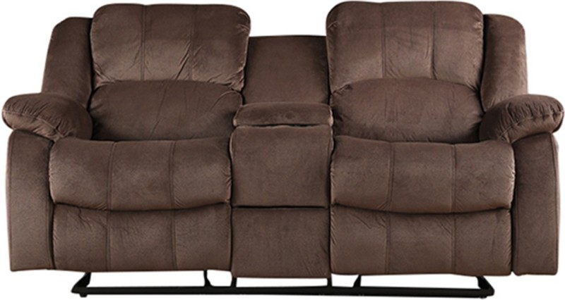 HomeTown Fabric Manual Recliners -Finish Color – Brown