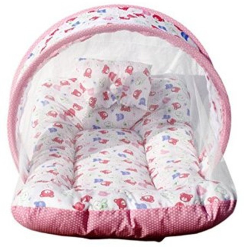 Nagar international Cotton Bedding Set  -Pink
