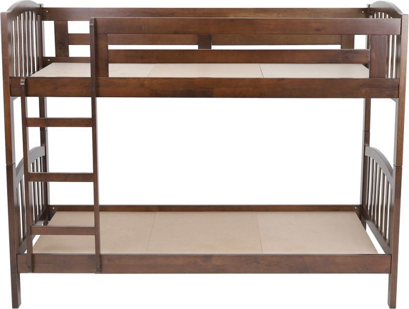 Woodness Liam Solid Wood Bunk Bed  -Finish Color – Dark Brown