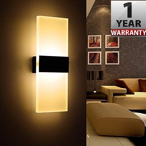 Smartway Rectangle Wall Led Lamp -Warm White