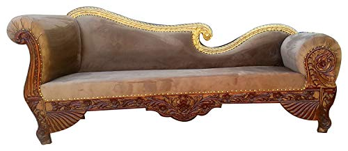 tayyaba enterprises Teak Wood Sofa Couch for Living Room