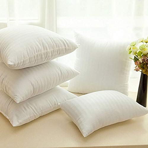 Cloth Fusion Premium Quality Microfiber Satin Striped  Cushion