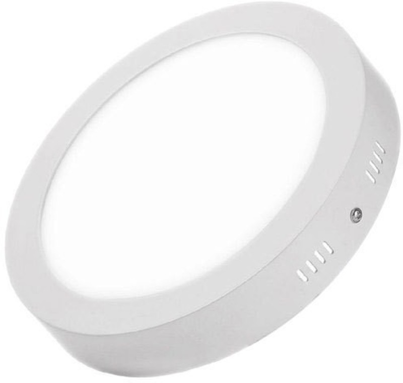 D'Mak™ 22 Watt Round Surface White Led Panel Lights with IC Driver Energy Saver