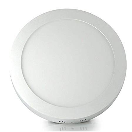 Gesto 12W Round Cool Day White Led Surface Mounted Ceiling Light