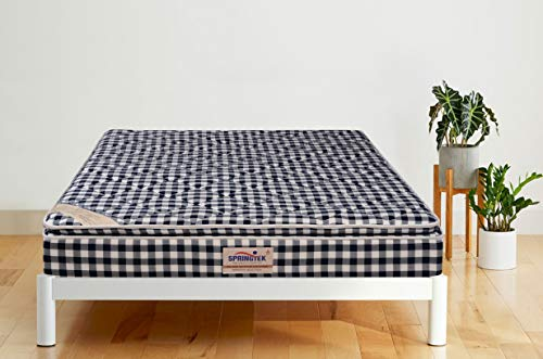 Springtek Aspire Pillow Top 6-Inch King Size Pocket Spring Mattress 68% Off, Rs8698